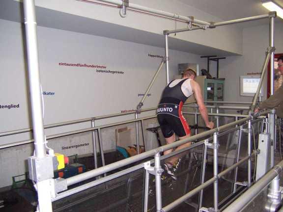 Training auf dem Laufband
