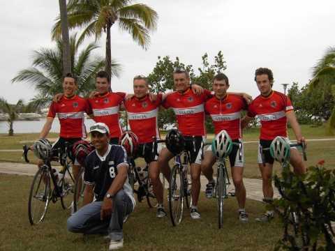 Deutsche U23-Nationalmannschaft bei der Kuba-Rundfahrt